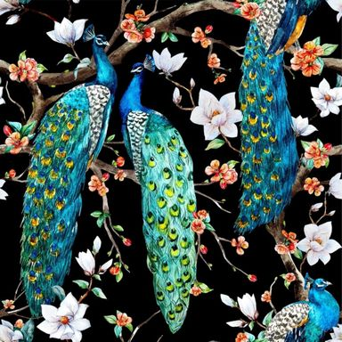 Dekor Peacock 60 X 60 Alfa-Cer