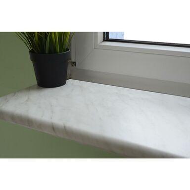 Parapet wewnętrzny płyta wiórowa marmur carrara 305x30x2.8 cm Biuro Styl