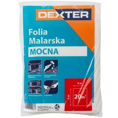 Folia malarska MOCNA 4 x 5 m DEXTER