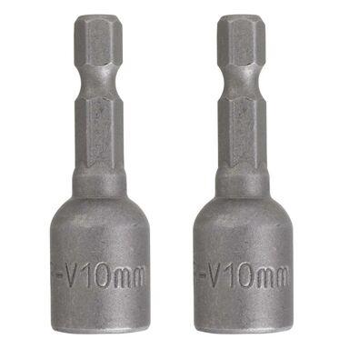 Klucze nasadowe magnetyczne 10x45 mm 2 szt. DEXTER