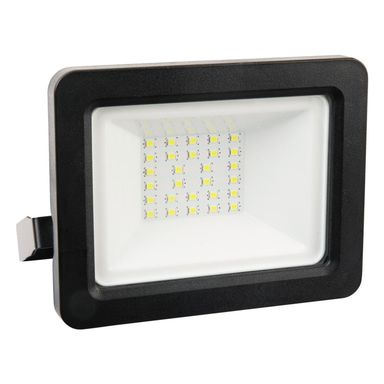 Naświetlacz COB IP65 czarny aluminium LED POLUX
