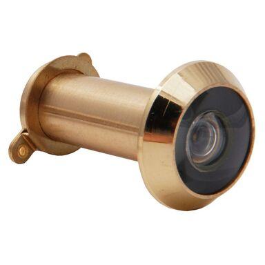 Wizjer do drzwi regulowany 35 - 50 mm Mosiądz GERDA