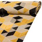 Tkanina na mb ARLETTY żółta szer. 140 cm