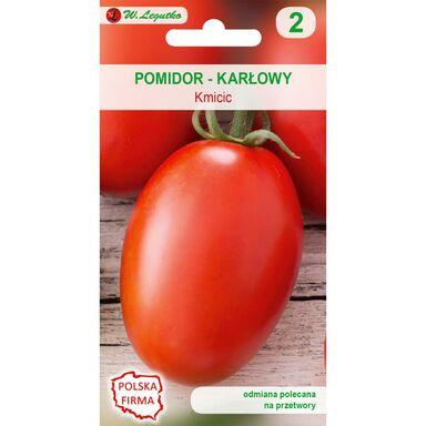 Pomidor gruntowy karłowy KMICIC nasiona tradycyjne 0.5 g W. LEGUTKO