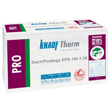 Styropian dach podłoga niefrezowany PRO EPS 100 20 mm KNAUF