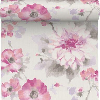 Tapeta w kwiaty Flower różowa winylowa na flizelinie