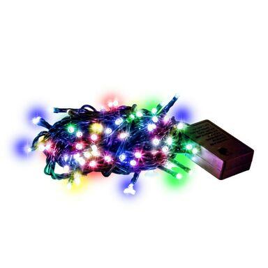Lampki choinkowe zewnętrzne 1000 LED multikolor z gniazdem i programatorem