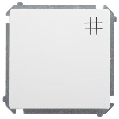 Włącznik krzyżowy BASIC  Biały  SIMON
