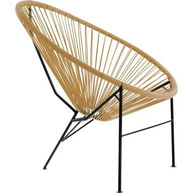 Krzesło ogrodowe ACAPULCO beżowe