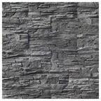 Kamień elewacyjny betonowy Elbrus Graphite 37,5 x 12,5 cm 0.47m2 Maxtone