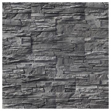 Kamień elewacyjny ELBRUS GRAPHITE 37,5 x 12,5 cm MAXSTONE