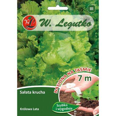 Nasiona warzyw KRÓLOWA LATA Sałata głowiasta krucha W. LEGUTKO