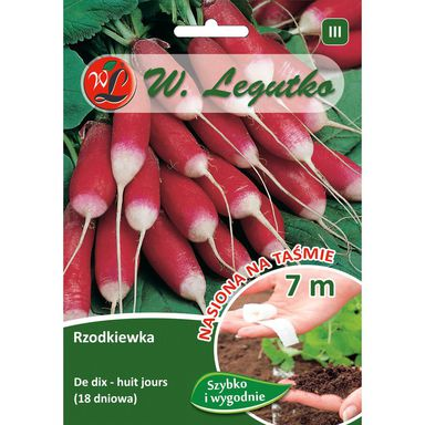 Nasiona warzyw DE DIX- HUIT JOURS Rzodkiewka W. LEGUTKO