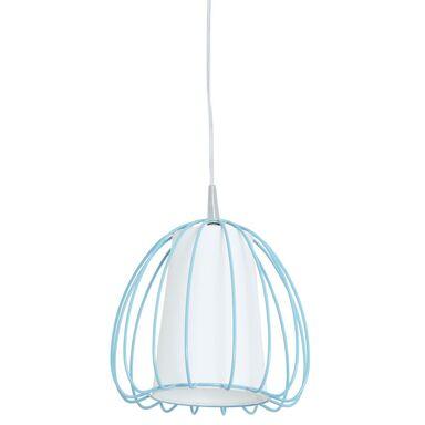 Lampa wisząca JELLY niebiesko-biała E27