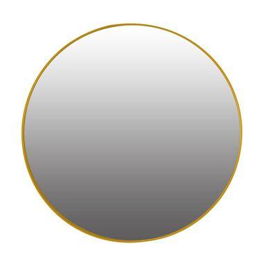 Lustro okrągłe Rondo żółte śr. 50 cm