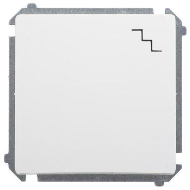 Włącznik pojedynczy BASIC  Biały  SIMON