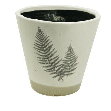 Osłonka ceramiczna 14 x 14 cm beżowa 985226 KAEMINGK