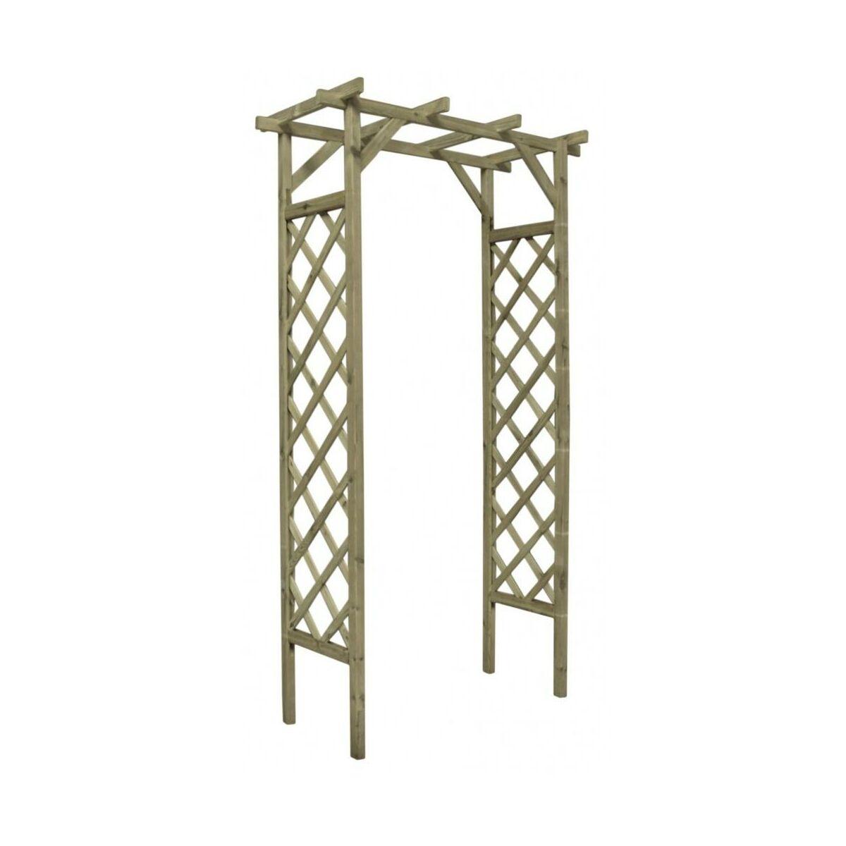 Pergola Ogrodowa 120 X 60 X 212 Cm Drewniana Stelmet Pergole W Atrakcyjnej Cenie W Sklepach Leroy Merlin