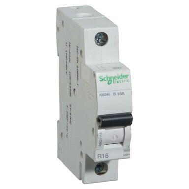 Wyłącznik K60N - B16 - 1 NADPRĄDOWY SCHNEIDER ELECTRIC