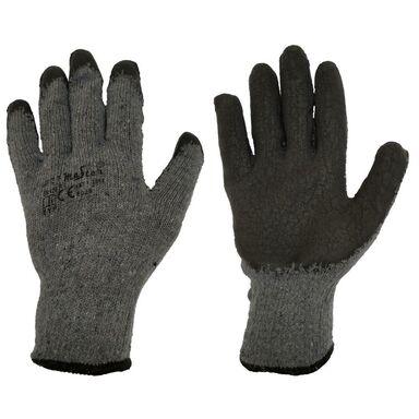 Rękawice ochronne r. XL / 9 bawełniane z powłoką lateksową