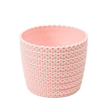 Osłonka plastikowa 11 cm różowa MAGNOLIA