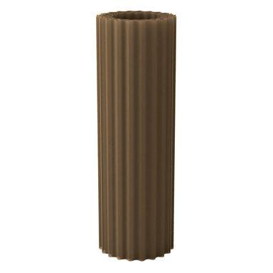 Poliester falisty w rolce Brązowy 1 x 30 mb