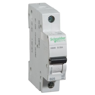 Wyłącznik nadprądowy K60N - B25 - 1 SCHNEIDER ELECTRIC