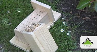 Rodzaje domków dla owadów