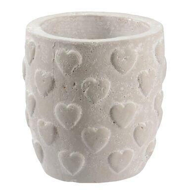 Osłonka ceramiczna 14 x 14 cm szara 985294 KAEMINGK