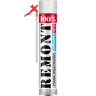 Pianka poliuretanowa wężykowa 100% REMONT Zimowa 700 ml PENOSIL