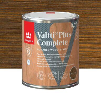 Lazura do drewna VALTTI 0.75 l Medium Nut (Średni orzech) TIKKURILA