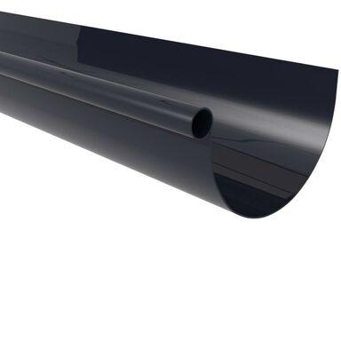 Rynna dachowa ryflowana G80 Grafitowa 4 m SCALA PLASTICS