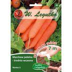 Marchew NANTES 3 nasiona na taśmie 7 m W. LEGUTKO