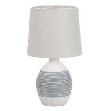 Lampa stołowa AMBON biała E14 CANDELLUX