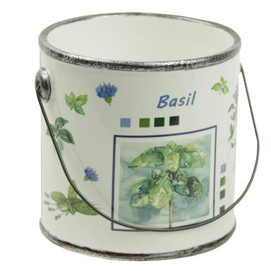 Osłonka ceramiczna 12.5 cm biała 985248 KAEMINGK
