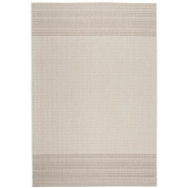 Dywan zewnętrzny PATIO biało-beżowy 80 x 150 cm