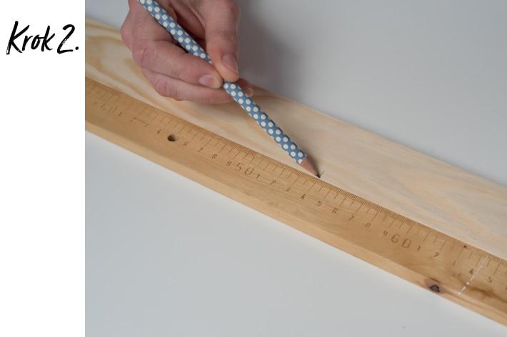 Kwietnik stojący DIY - krok 2