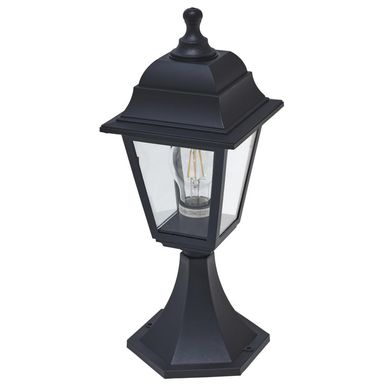 Lampa ogrodowa stojąca SIMA IP44 Czarna E27 INSPIRE