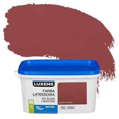 Farba wewnętrzna EMULSJA 5 l Szczypta tabasco LUXENS
