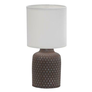 Lampa stołowa INER brązowa E14 CANDELLUX