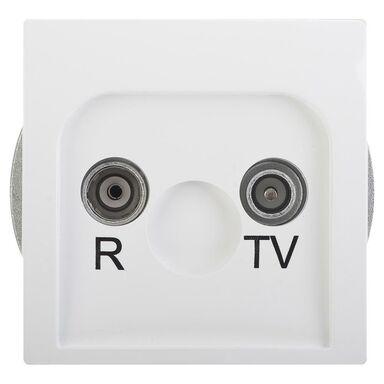 Gniazdo RTV końcowe BASIC  biały  KONTAKT SIMON