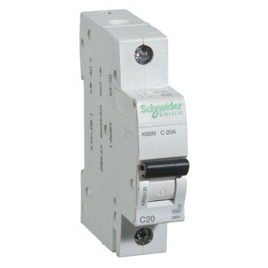Wyłącznik nadprądowy K60N - C20 - 1 SCHNEIDER ELECTRIC