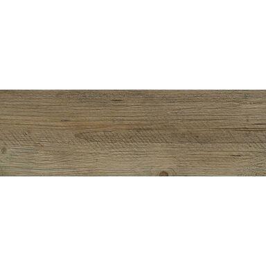 Gres szkliwiony LEGNUM BRĄZ 20 X 60 CERAMIKA GRES