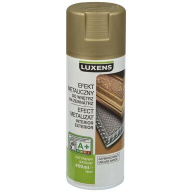 Spray METALICZNY Złoty antyczny 0,4 l  LUXENS