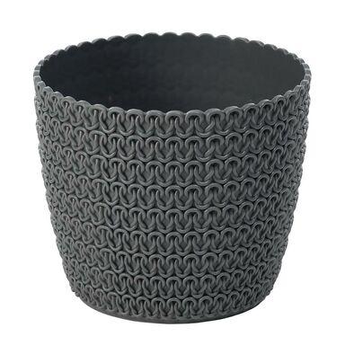 Osłonka plastikowa 22 cm antracytowa MAGNOLIA