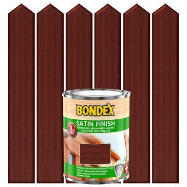 Lakierobejca do drewna SATIN FINISH 0,75 lMahoń BONDEX
