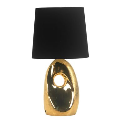 Lampa stołowa HIERRO złoto-czarna CANDELLUX