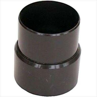 Mufa rynnowa 80 mm Brązowa SCALA PLASTICS