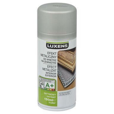 Spray METALICZNY Srebrny 0,15 l  LUXENS