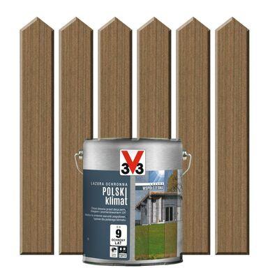 Lazura do drewna POLSKI KLIMAT WSPÓŁCZESNA 0.75 l  Ciemna miedź V33